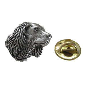 Spaniel Dog Lapel Pin